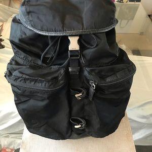 Authentic Prada Black Backpack 🎒